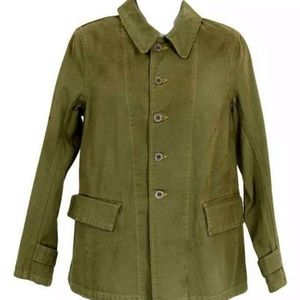 Chimala x Madewell Coverall Olive Jacket NEW